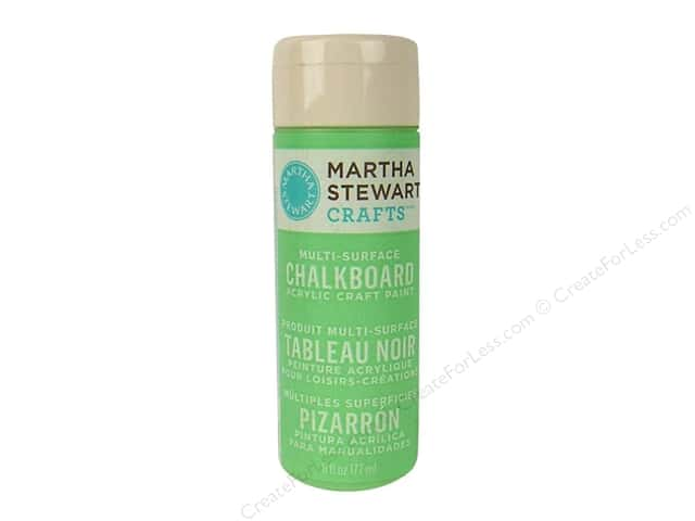 Martha Stewart Chalkboard Paint by Plaid Green 6 oz.