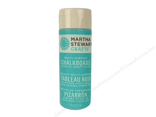 Martha Stewart Chalkboard Paint by Plaid Blue 6 oz.