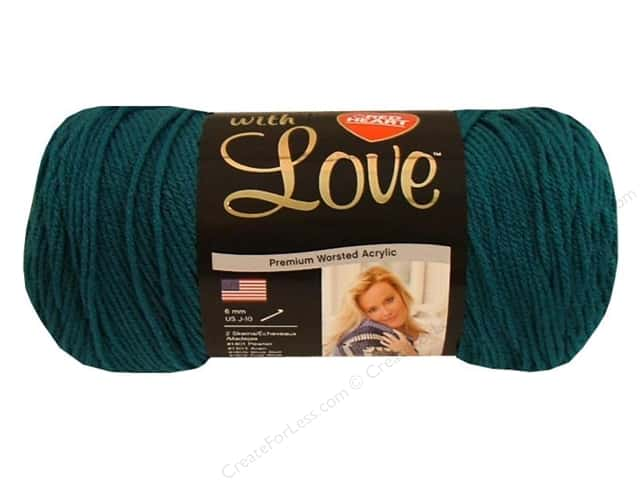Red Heart With Love Yarn #1623 Mallard 370 yd.