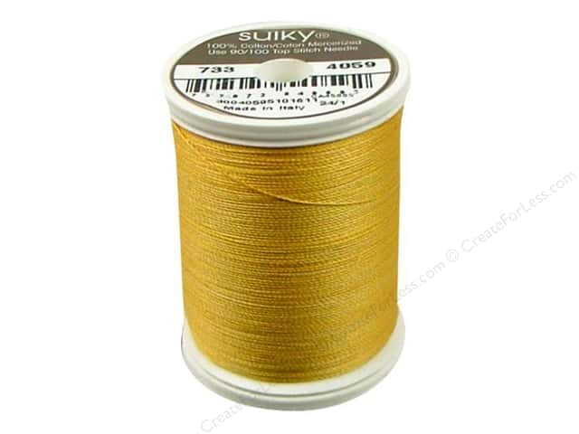 Sulky Blendables Cotton Thread 30 wt. 500 yd. #4004 Radiant Gold