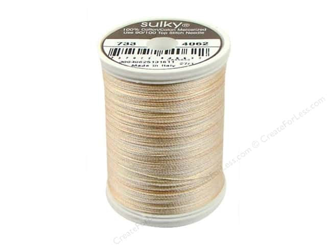 Sulky Blendables Cotton Thread 30 wt. 500 yd. #4062 Desert Storm