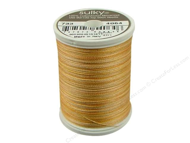 Sulky Blendables Cotton Thread 30 wt. 500 yd. #4064 Buttercup