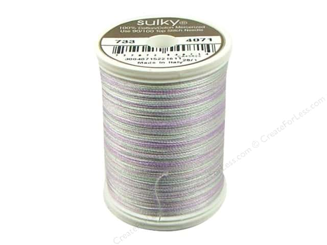 Sulky Blendables Cotton Thread 30 wt. 500 yd. #4071 Pale Amethyst