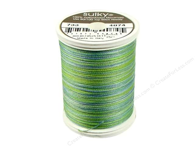 Sulky Blendables Cotton Thread 30 wt. 500 yd. #4074 Bluegrass