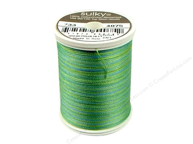 Sulky Blendables Cotton Thread 30 wt. 500 yd. #4075 Celadon
