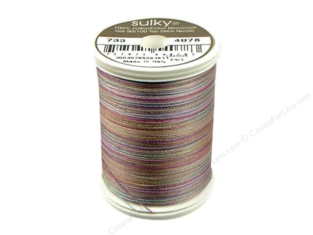 Sulky Blendables Cotton Thread 30 wt. 500 yd. #4078 Rosewood