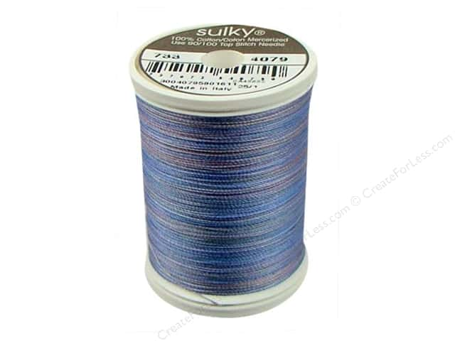 Sulky Blendables Cotton Thread 30 wt. 500 yd. #4079 Hyacinth