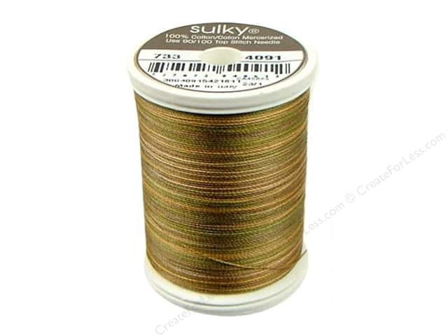 Sulky Blendables Cotton Thread 30 wt. 500 yd. #4091 Camouflage