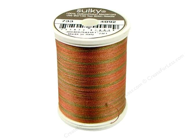 Sulky Blendables Cotton Thread 30 wt. 500 yd. #4092 Summer Fruit