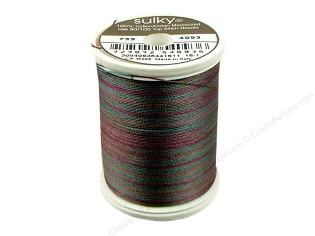 Sulky Blendables Cotton Thread 30 wt. 500 yd. #4093 Blackberry