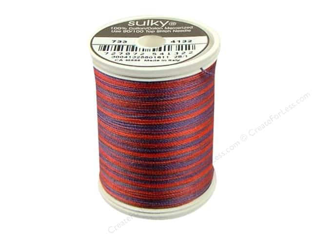 Sulky Blendables Cotton Thread 30 wt. 500 yd. #4132 Hat Ladies