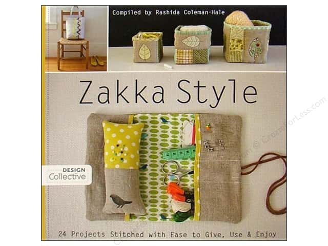 Zakka Style: 24 Projects Stitched with Ease to Give, Use & Enjoy Book