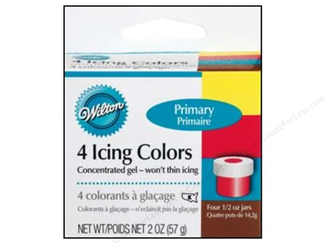 Wilton Icing Color Set 4 pc. Primary