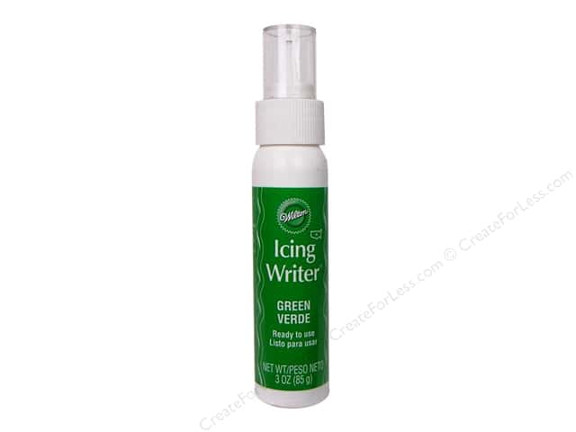Wilton Icing Writer Green 3oz