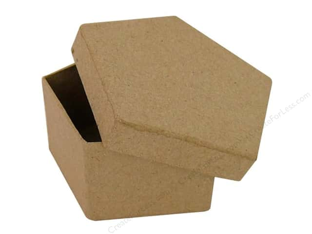 Paper Mache Pentagon Box by Craft Pedlars (36 pieces)