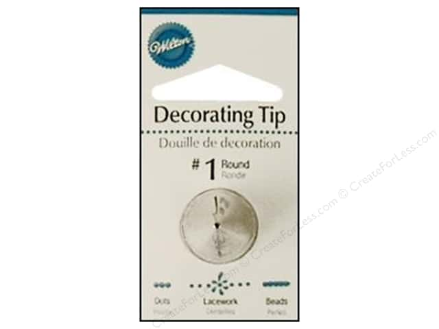 Wilton Tools Decorating Tip Round #1