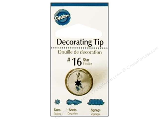 Wilton Tools Decorating Tip Open Star #16