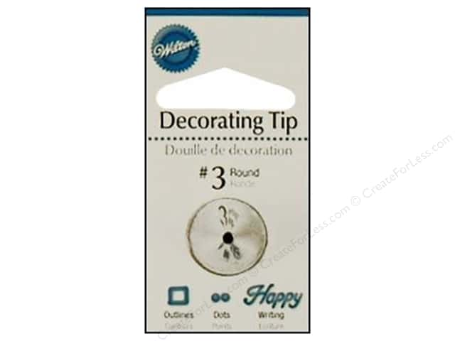 Wilton Tools Decorating Tip Round #3
