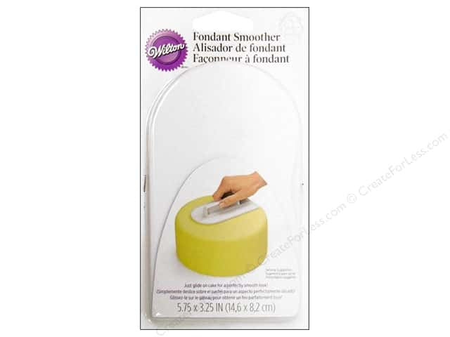 Wilton Tools Fondant Smoother Easy Glide
