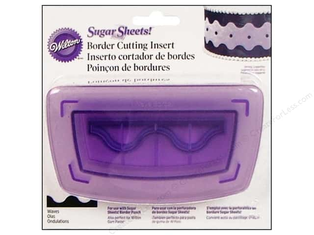 Wilton Tools Cutting Insert Border Wave