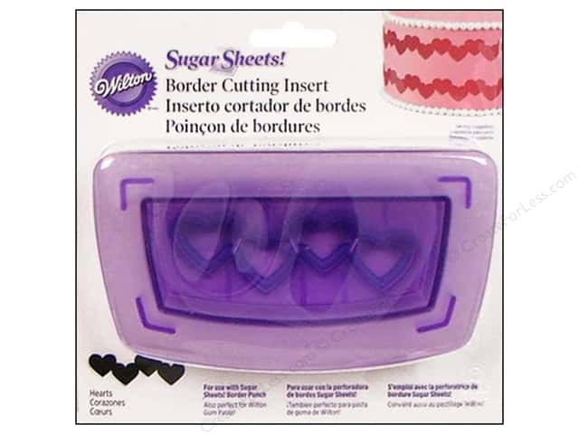 Wilton Tools Cutting Insert Border Hearts