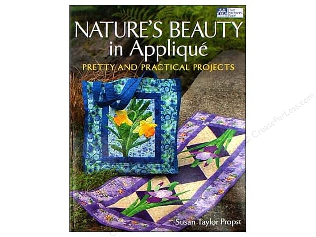 That Patchwork Place Nature's Beauty in Applique Book by Susan Taylor Propst