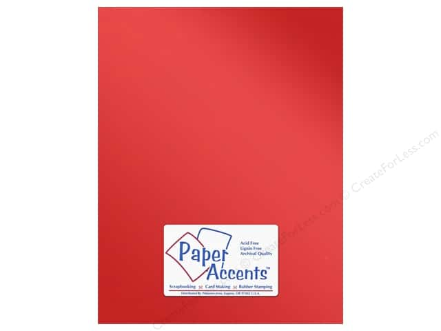 Paper Accents Anodized Cardstock 8 1/2 x 11 in. #8834 Firewall (25 sheets)