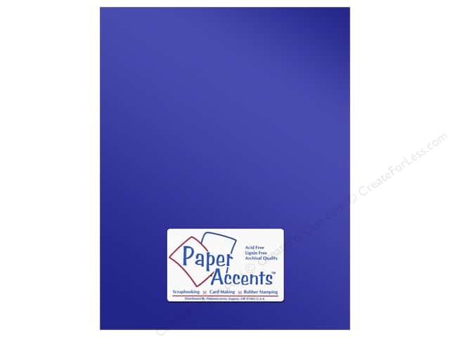 Anodized Cardstock 8 1/2 x 11 in. #8835 Victory Lane by Paper Accents (25 sheets)