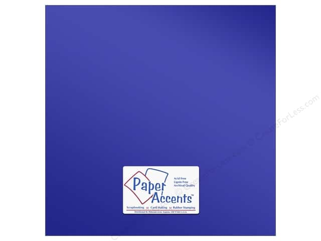 Paper Accents Anodized Cardstock 12 x 12 in. Victory Lane (25 sheets)