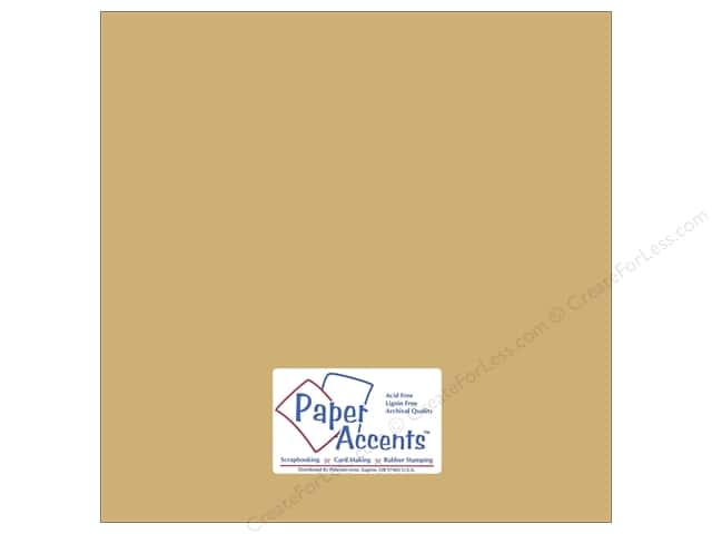 Pearlized Paper 12 x 12 in. #8822 Gold Dust by Paper Accents (25 sheets)