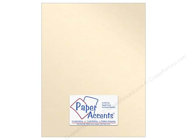 Paper Accents Pearlized Paper 8 1/2 x 11 in. #8820 Cameo (25 sheets)