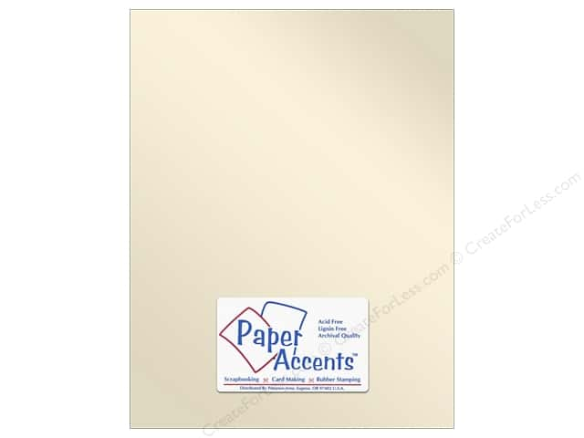 Paper Accents Pearlized Paper 8 1/2 x 11 in. #8821 Champagne (25 sheets)
