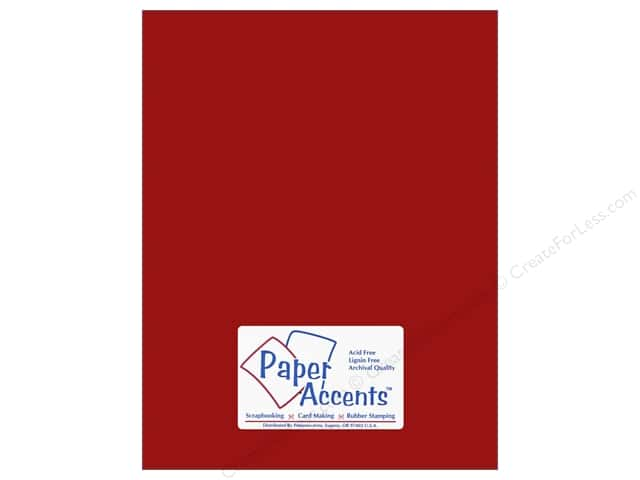Cardstock 8 1/2 x 11 in. #6145 Smooth Picante by Paper Accents (25 sheets)
