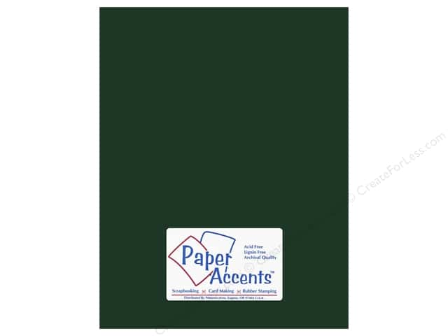 Paper Accents Cardstock 8 1/2 x 11 in. #6148 Smooth Shamrock (25 sheets)