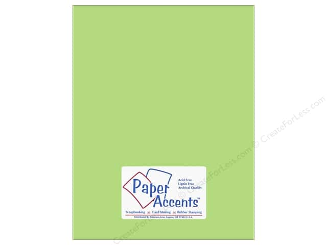Cardstock 8 1/2 x 11 in. #6150 Smooth Spearmint by Paper Accents (25 sheets)