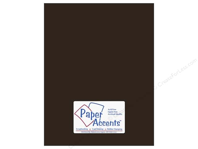 Cardstock 8 1/2 x 11 in. #8824 Stardust Cocoa Star by Paper Accents (25 sheets)