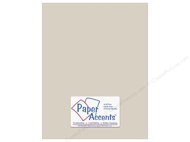 Cardstock 8 1/2 x 11 in. #6159 Smooth Dove Grey by Paper Accents (25 sheets)