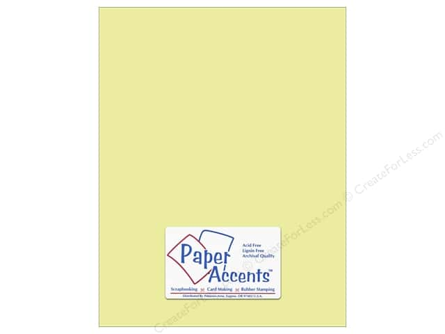 Cardstock 8 1/2 x 11 in. #6160 Smooth Dill by Paper Accents (25 sheets)