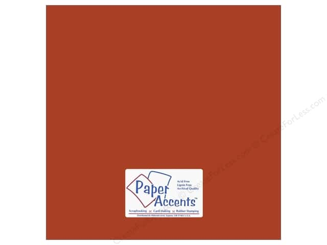 Paper Accents Cardstock 12 x 12 in. #10139 Stash Builder Yam (25 sheets)