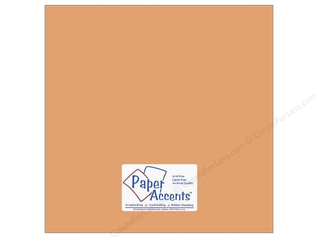 Paper Accents Cardstock 12 x 12 in. #10140 Stash Builder Shrimp (25 sheets)