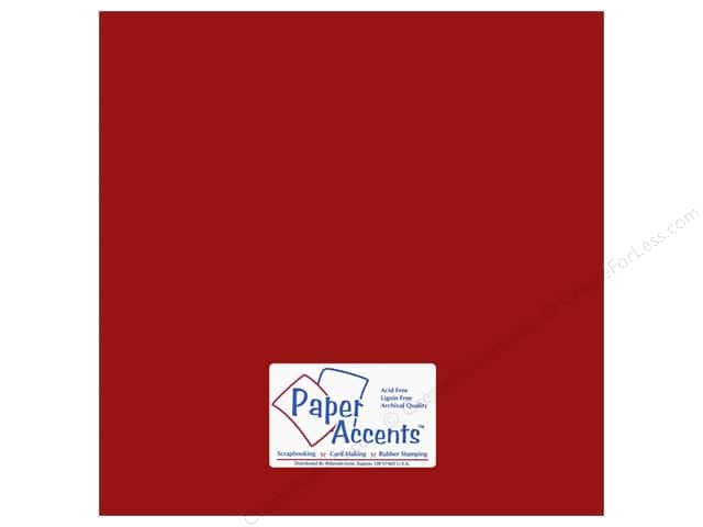 Cardstock 12 x 12 in. #6145 Smooth Picante by Paper Accents (25 sheets)