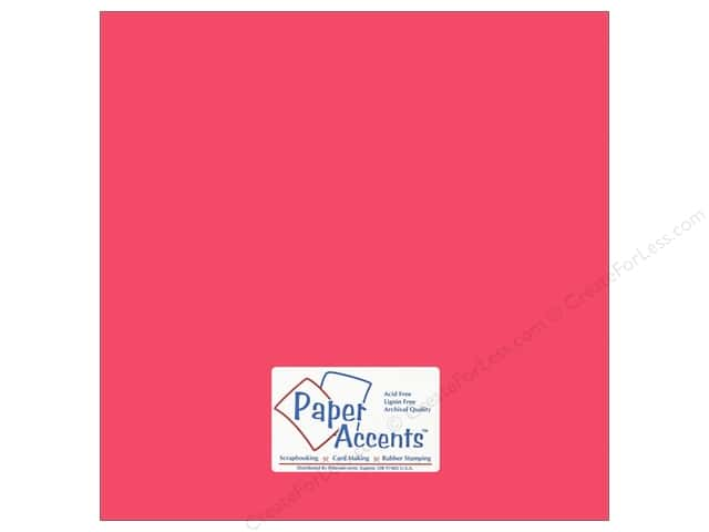 Cardstock 12 x 12 in. #6147 Smooth Punch by Paper Accents (25 sheets)