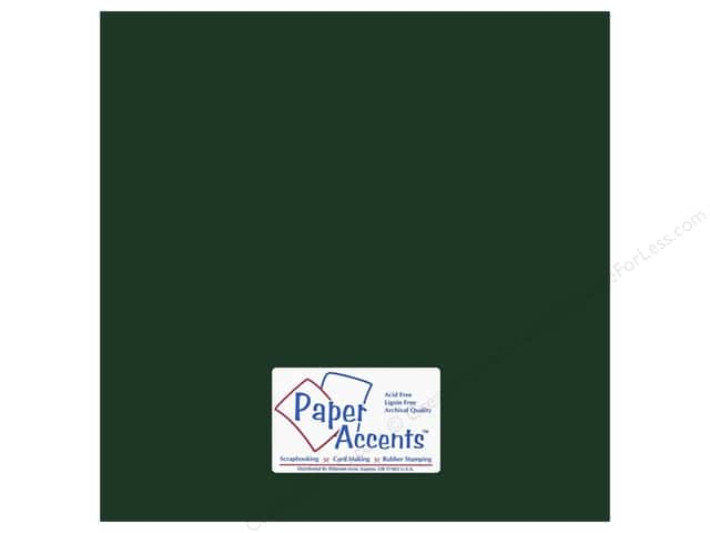 Cardstock 12 x 12 in. #6148 Smooth Shamrock by Paper Accents (25 sheets)