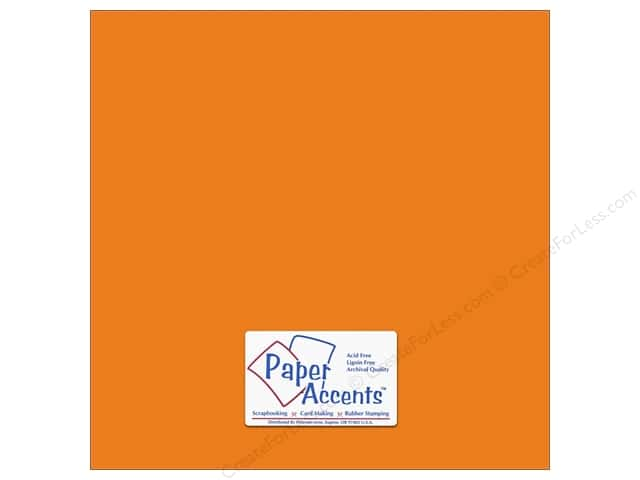 Paper Accents Cardstock 12 x 12 in. #6157 Smooth Goldilocks (25 sheets)