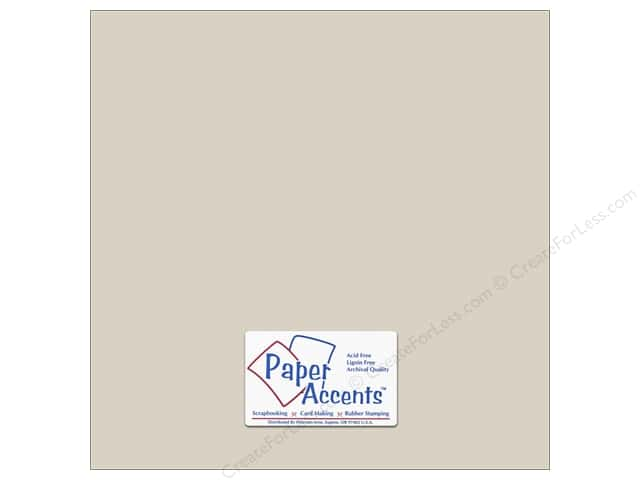 Cardstock 12 x 12 in. #6159 Smooth Dove Grey by Paper Accents (25 sheets)