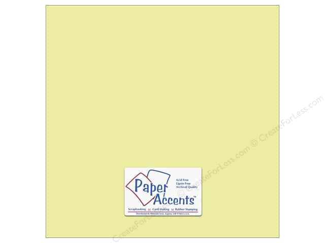 Cardstock 12 x 12 in. #6160 Smooth Dill by Paper Accents (25 sheets)