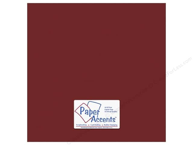 Cardstock 12 x 12 in. #8827 Stardust Cherry Star by Paper Accents (25 sheets)