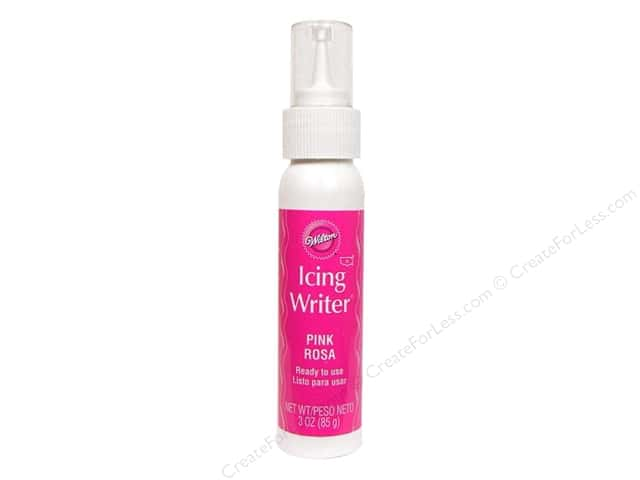 Wilton Edible Decorations Fondant Icing Writer 3oz Pink
