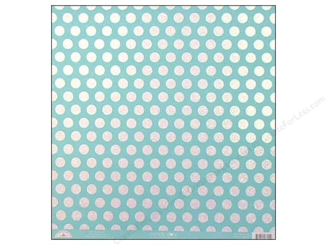 Doodlebug 12 x 12 in. Paper Candy Dots Swimming Pool (25 sheets)