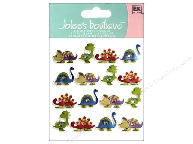 Jolee's Boutique Stickers Dinosaurs Repeat